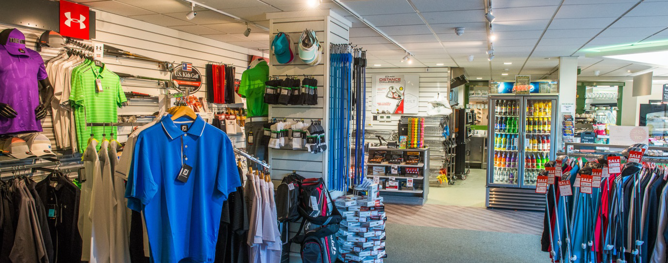 4046e35e35c Here at Chichester both shops have a good range of golf clothing, golf  clubs, golf bags, golf balls and much more , the shop is open until late  with lots of ...